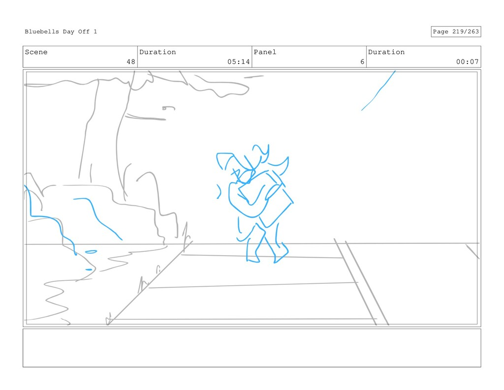 Scene 48 Duration 05:14 Panel 6 Duration 00:07 ...