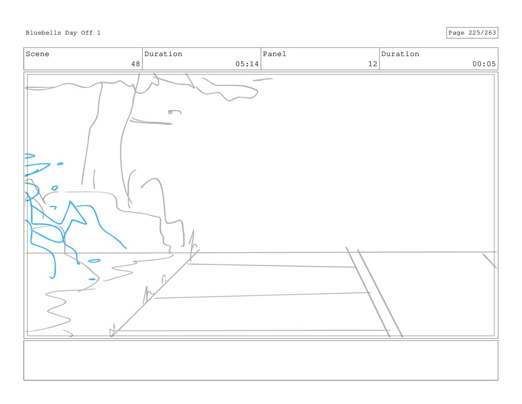 Scene 48 Duration 05:14 Panel 12 Duration 00:05...
