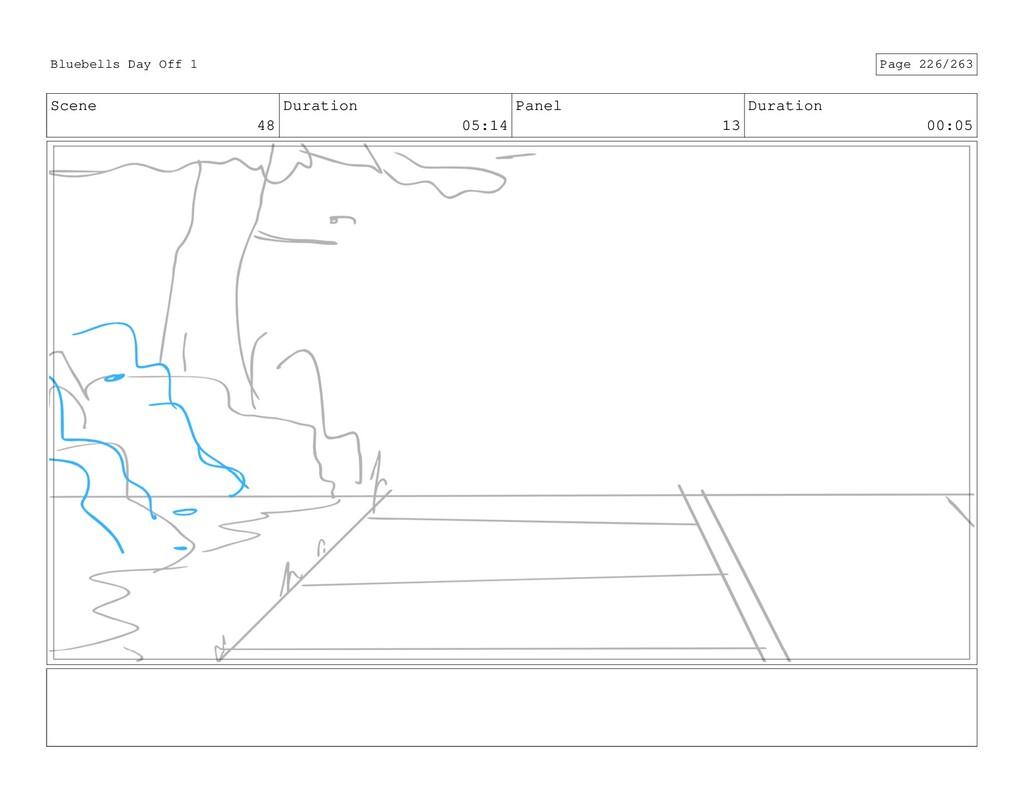 Scene 48 Duration 05:14 Panel 13 Duration 00:05...