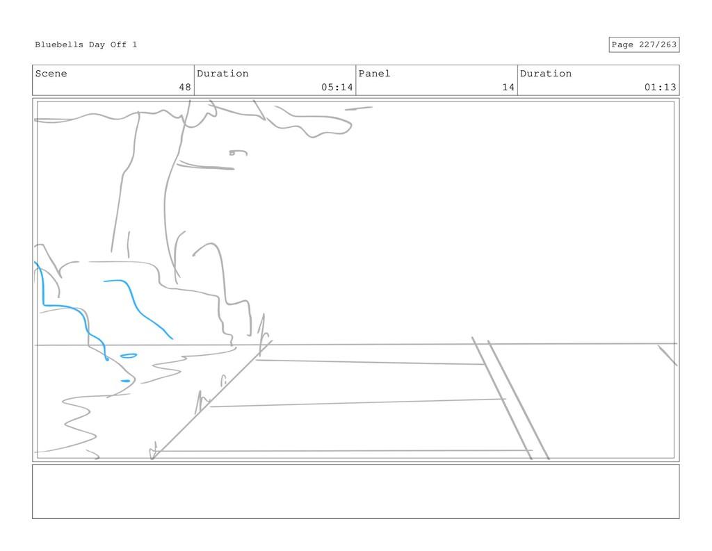 Scene 48 Duration 05:14 Panel 14 Duration 01:13...