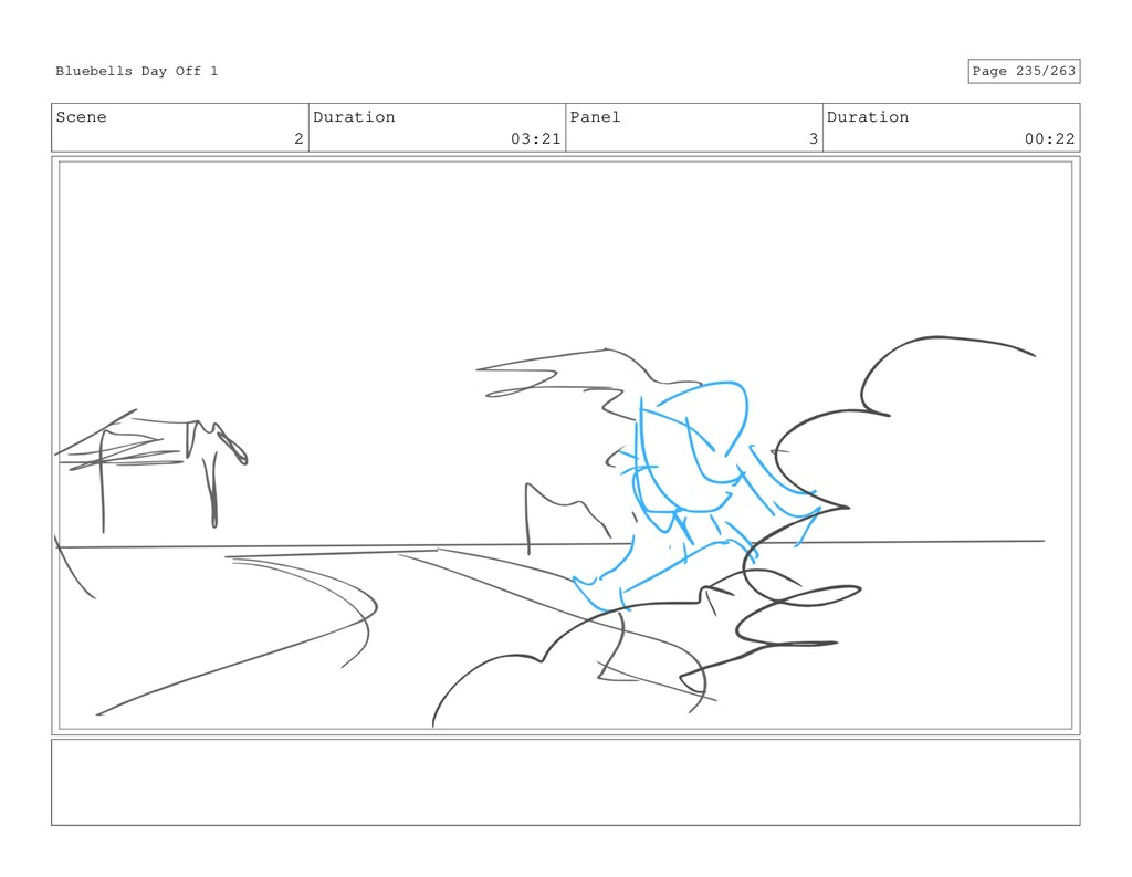 Scene 2 Duration 03:21 Panel 3 Duration 00:22 B...