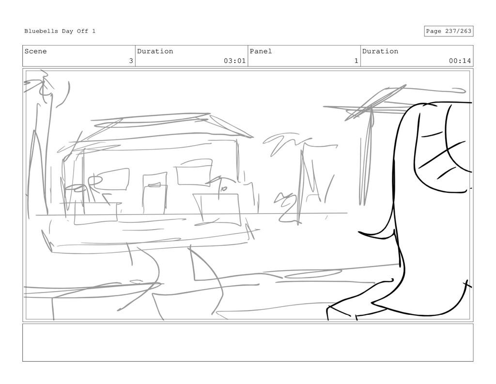 Scene 3 Duration 03:01 Panel 1 Duration 00:14 B...
