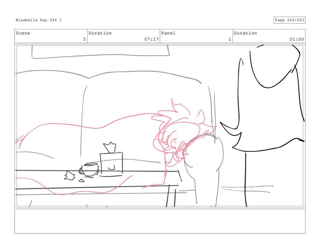 Scene 5 Duration 07:17 Panel 1 Duration 01:00 B...