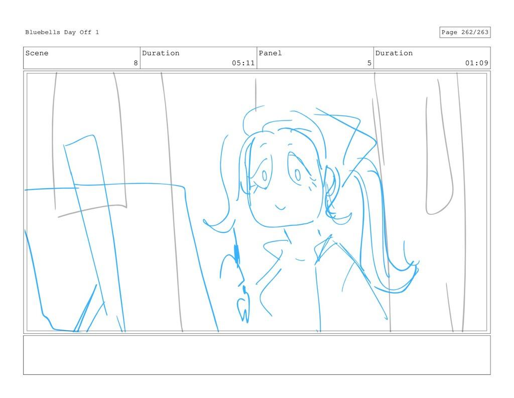 Scene 8 Duration 05:11 Panel 5 Duration 01:09 B...