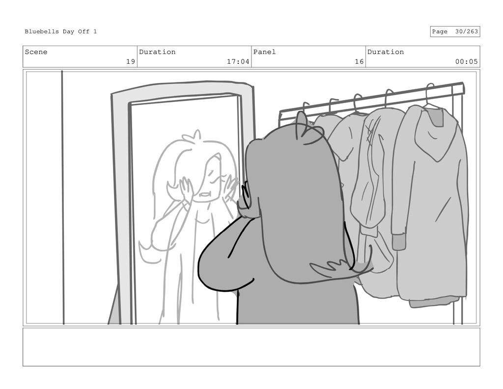 Scene 19 Duration 17:04 Panel 16 Duration 00:05...