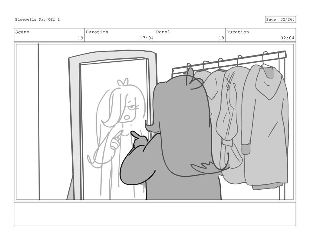 Scene 19 Duration 17:04 Panel 18 Duration 02:04...