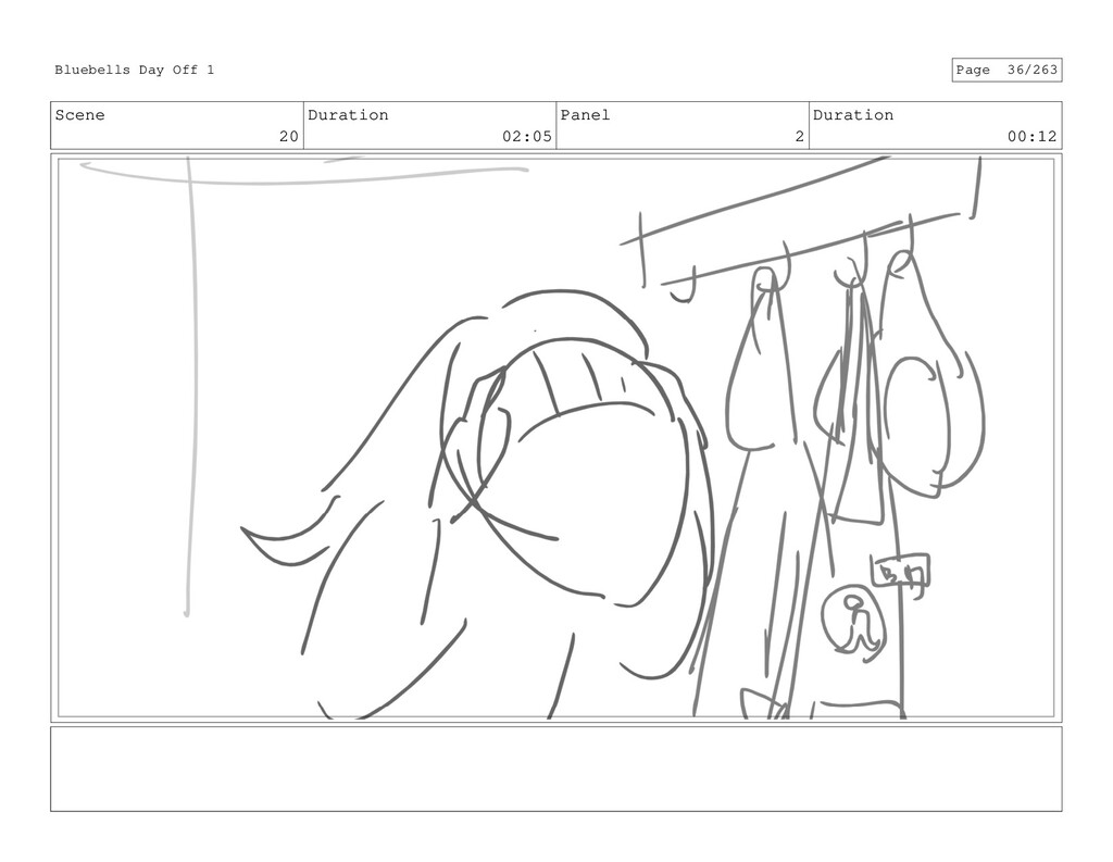 Scene 20 Duration 02:05 Panel 2 Duration 00:12 ...