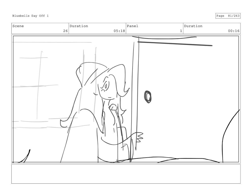 Scene 26 Duration 05:18 Panel 1 Duration 00:16 ...