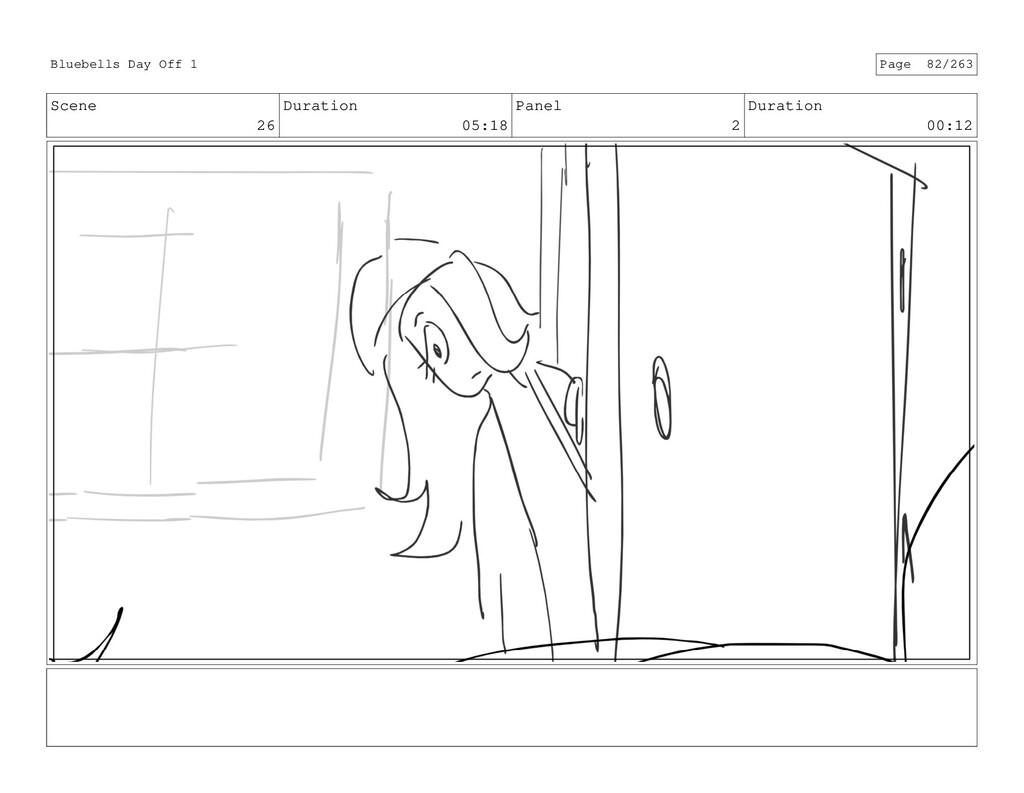 Scene 26 Duration 05:18 Panel 2 Duration 00:12 ...