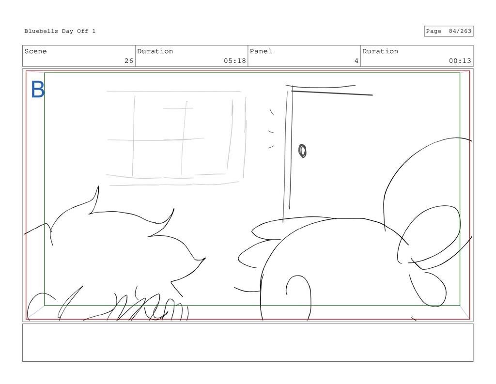 Scene 26 Duration 05:18 Panel 4 Duration 00:13 ...