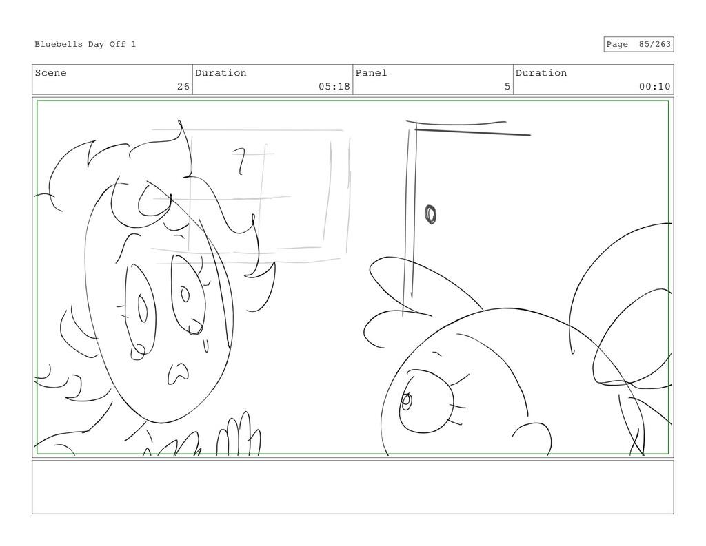 Scene 26 Duration 05:18 Panel 5 Duration 00:10 ...