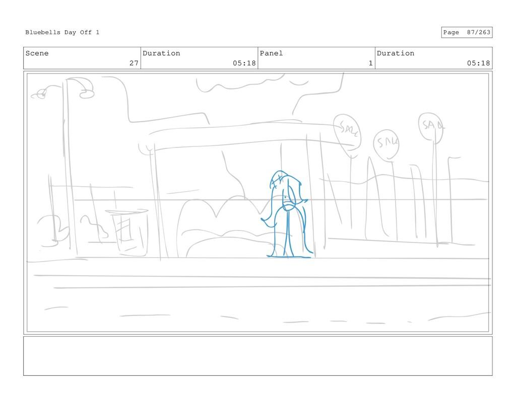 Scene 27 Duration 05:18 Panel 1 Duration 05:18 ...
