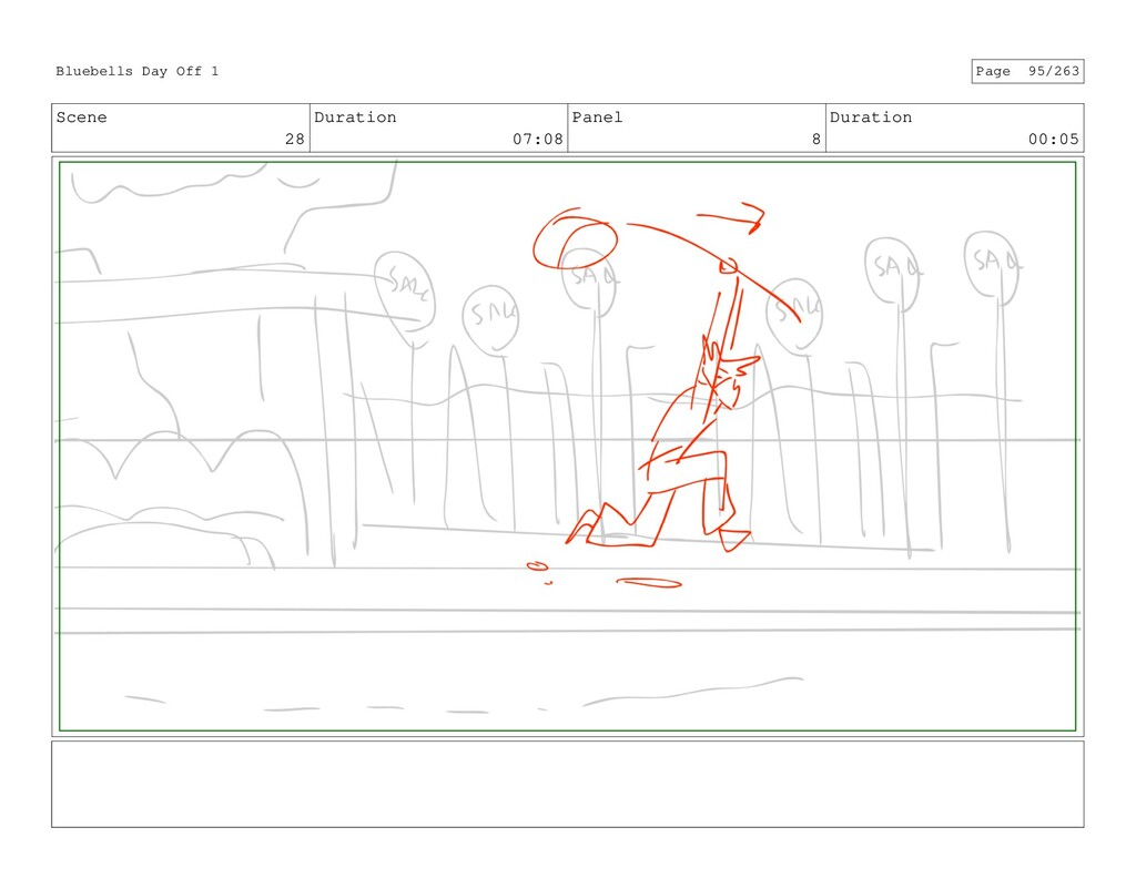 Scene 28 Duration 07:08 Panel 8 Duration 00:05 ...