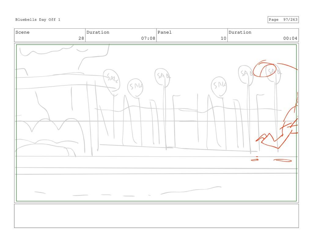 Scene 28 Duration 07:08 Panel 10 Duration 00:04...