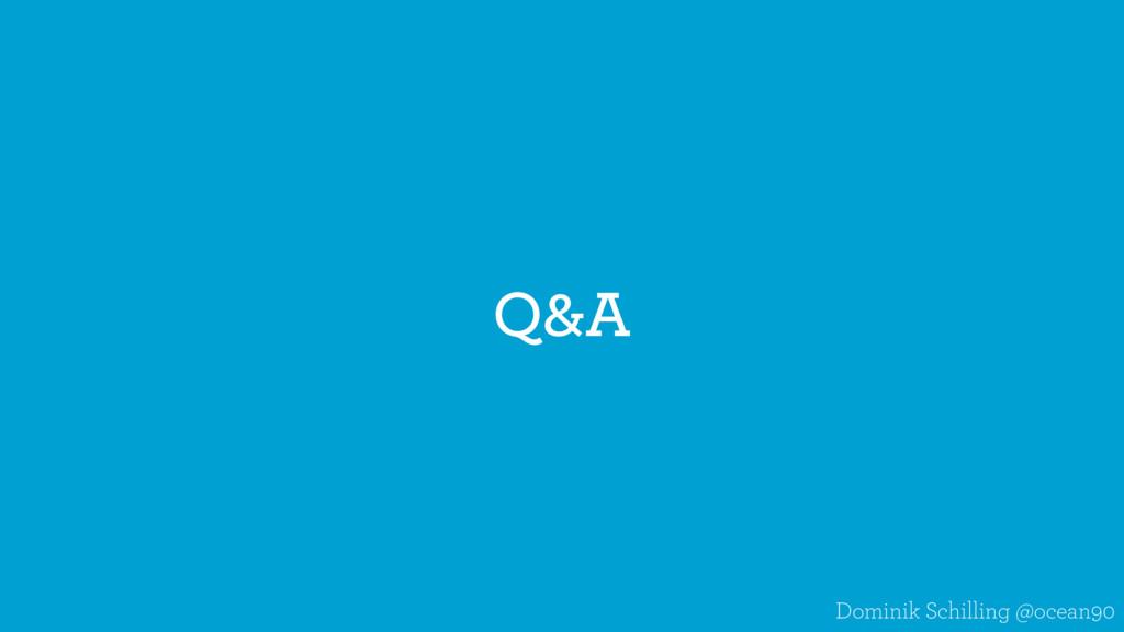 Q&A Dominik Schilling @ocean90