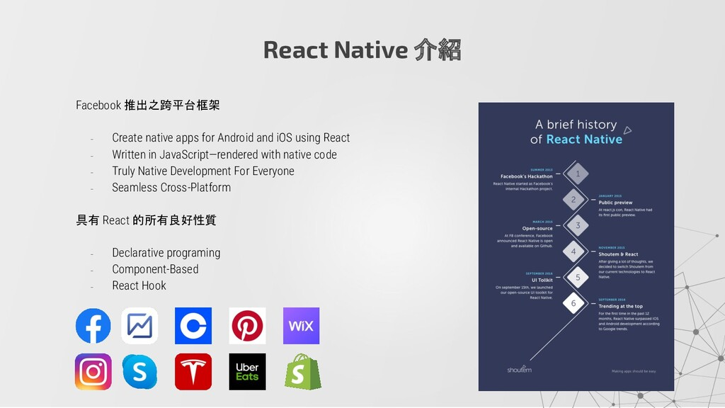 Facebook 推出之跨平台框架 - Create native apps for Andr...