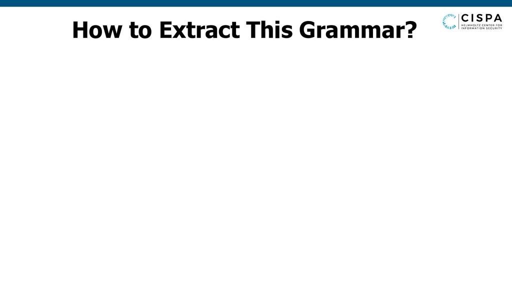 How to Extract This Grammar?
