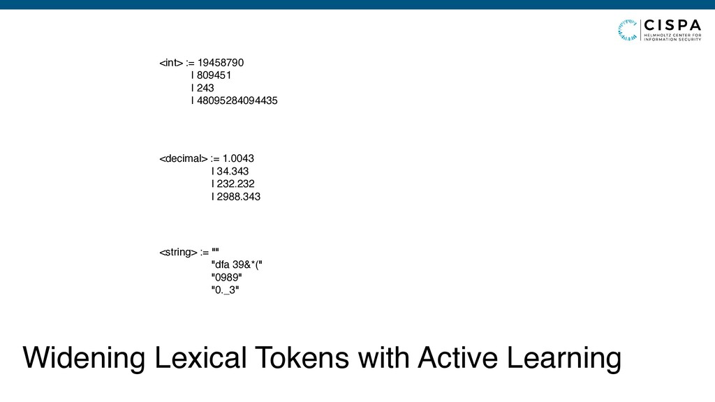 Widening Lexical Tokens with Active Learning <i...