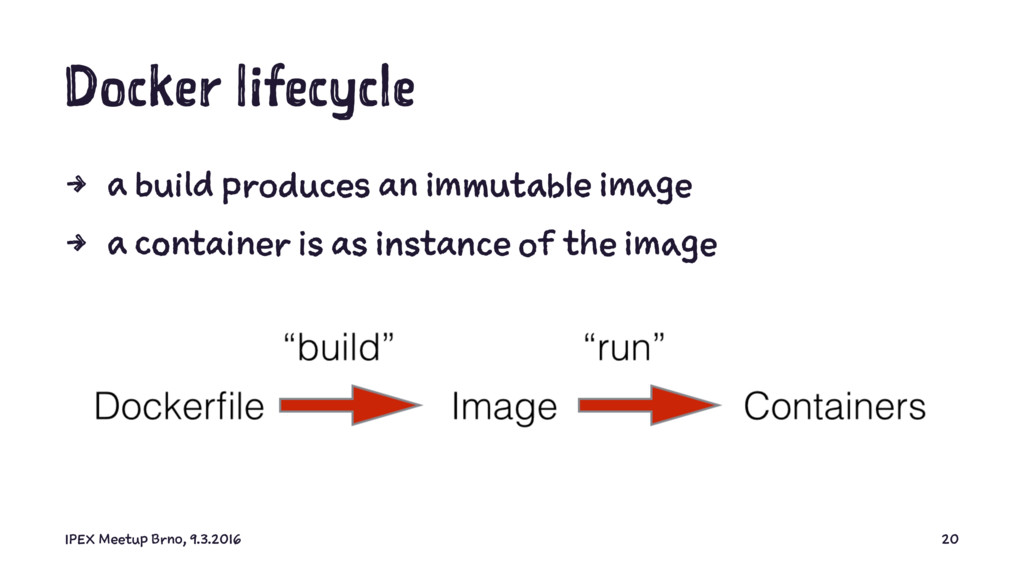 Docker lifecycle 4 a build produces an immutabl...