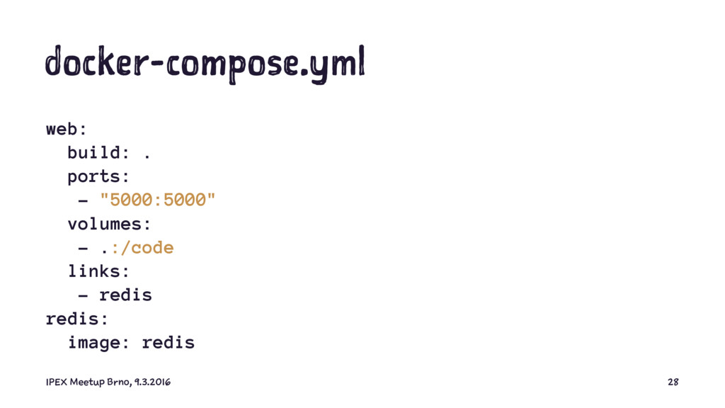 "docker-compose.yml web: build: . ports: - ""5000..."