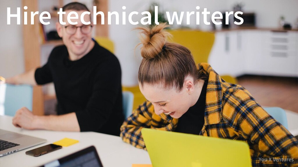 You X Ventures Hire technical writers