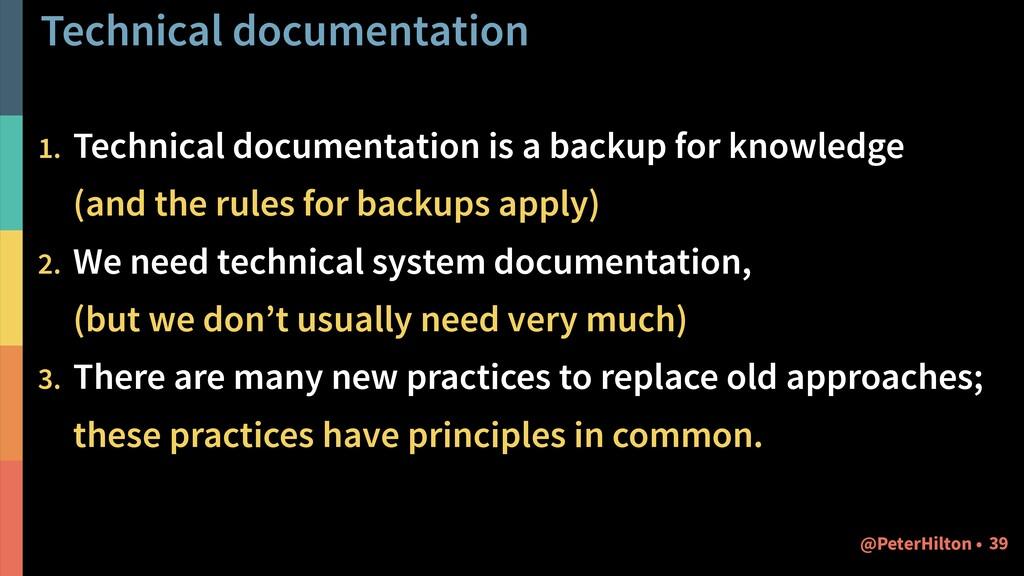 Technical documentation 1. Technical documentat...