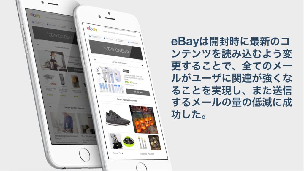 eBay։෧ʹ࠷৽ͷί ϯςϯπΛಡΈࠐΉΑ͏ม ߋ͢Δ͜ͱͰɺશͯͷϝʔ ϧ͕Ϣʔβʹؔ...