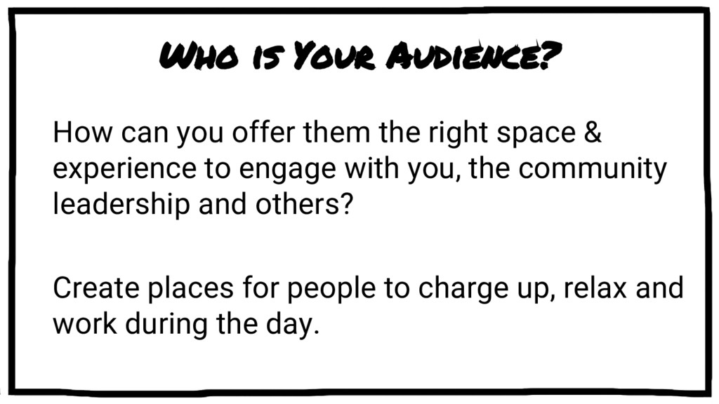 Who is Your Audience? How can you offer them th...