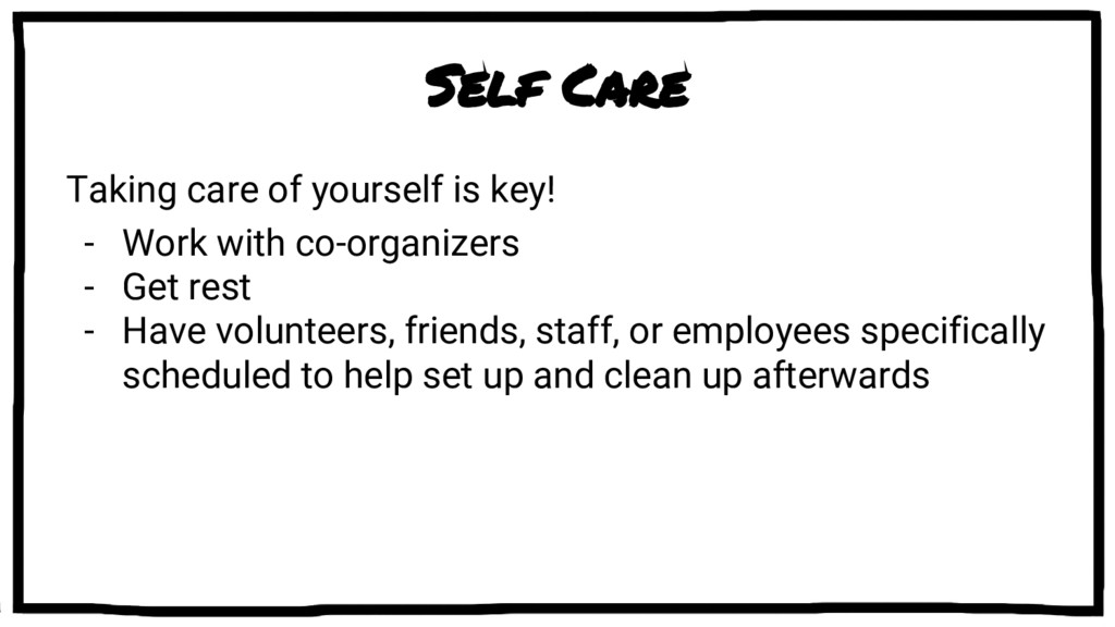 Self Care Taking care of yourself is key! - Wor...