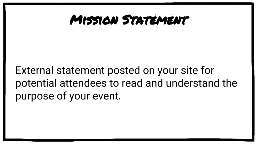 Mission Statement External statement posted on ...
