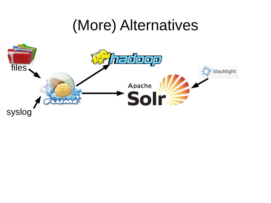 (More) Alternatives files syslog