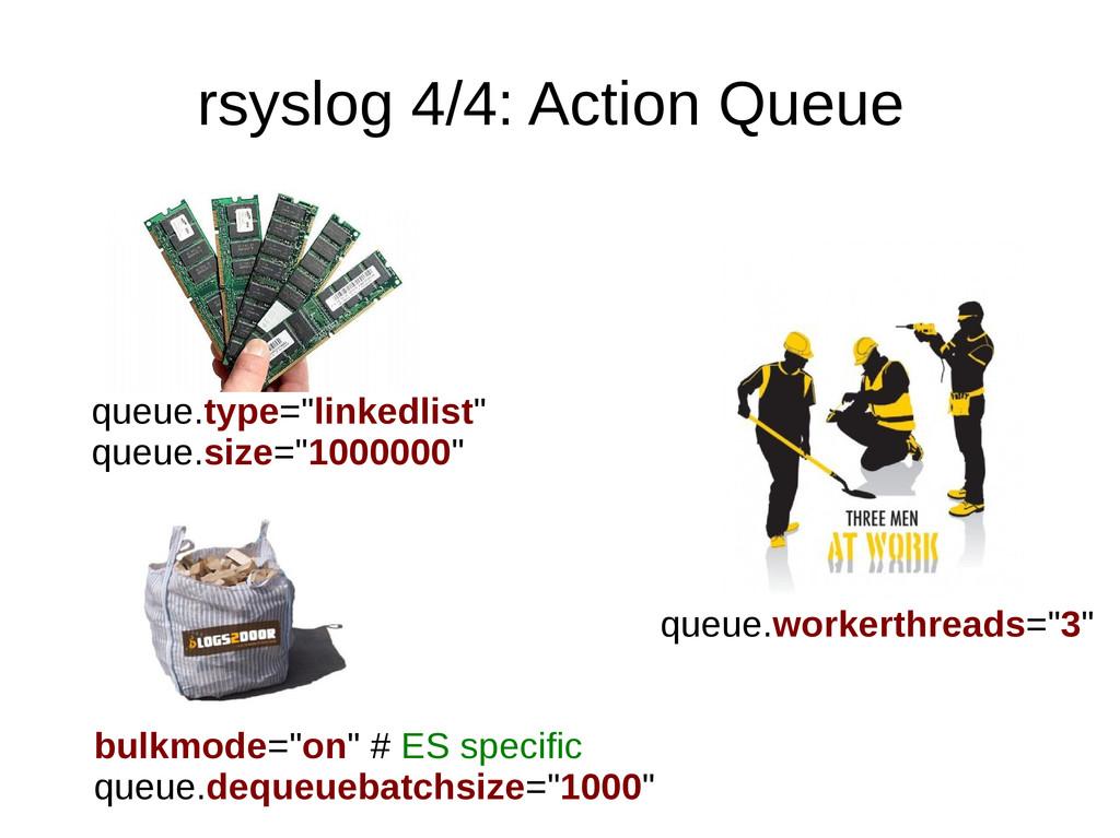 "rsyslog 4/4: Action Queue queue.type=""linkedlis..."