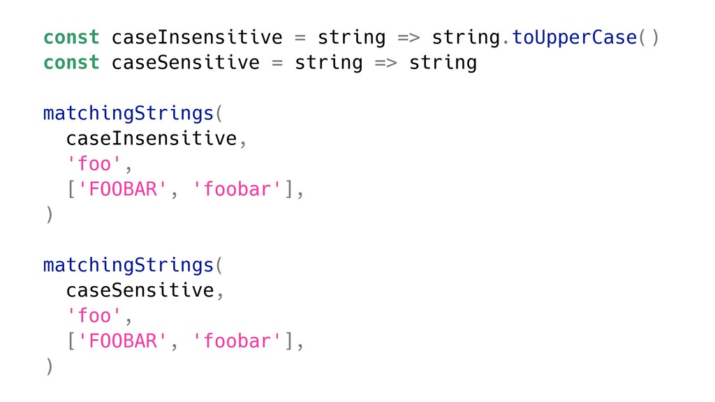 const caseInsensitive = string => string.toUppe...