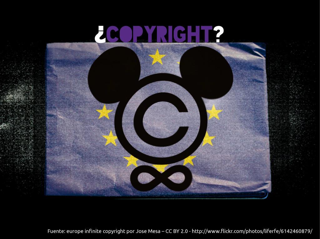 Fuente: europe infinite copyright por Jose Mesa...