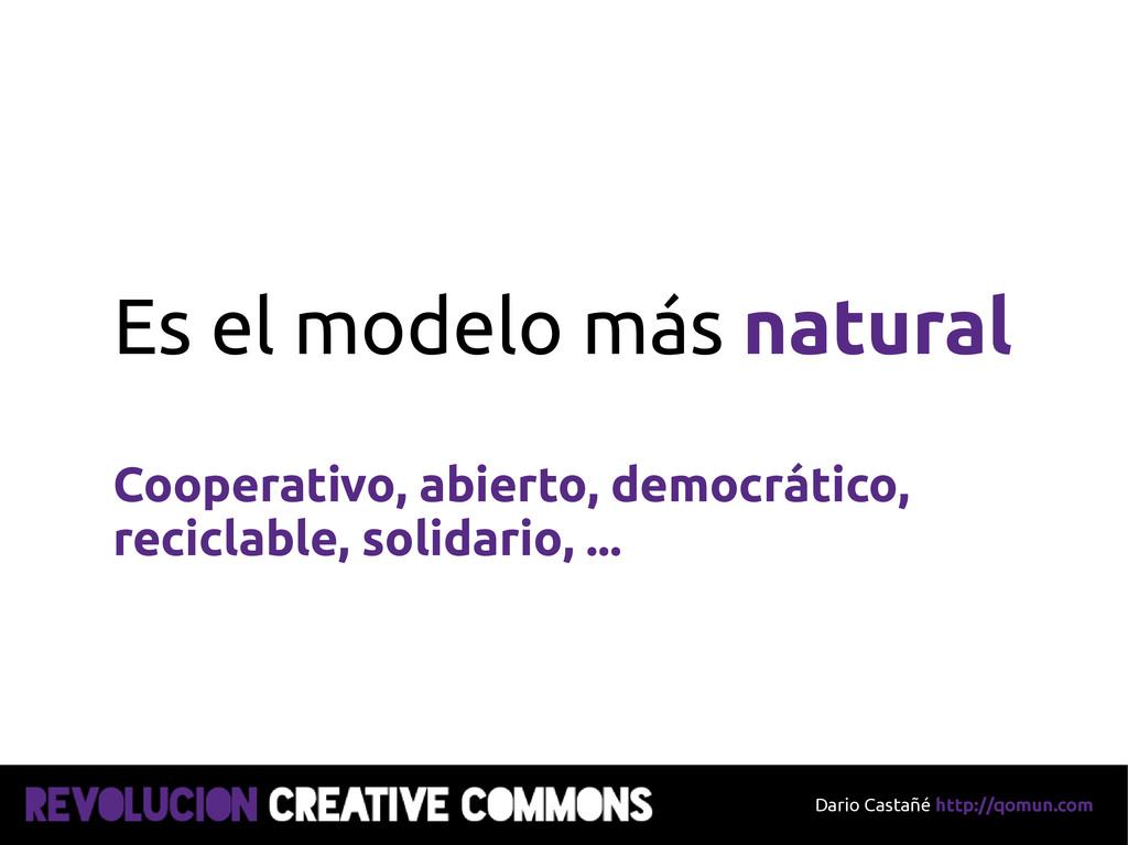 Dario Castañé http://qomun.com Es el modelo más...