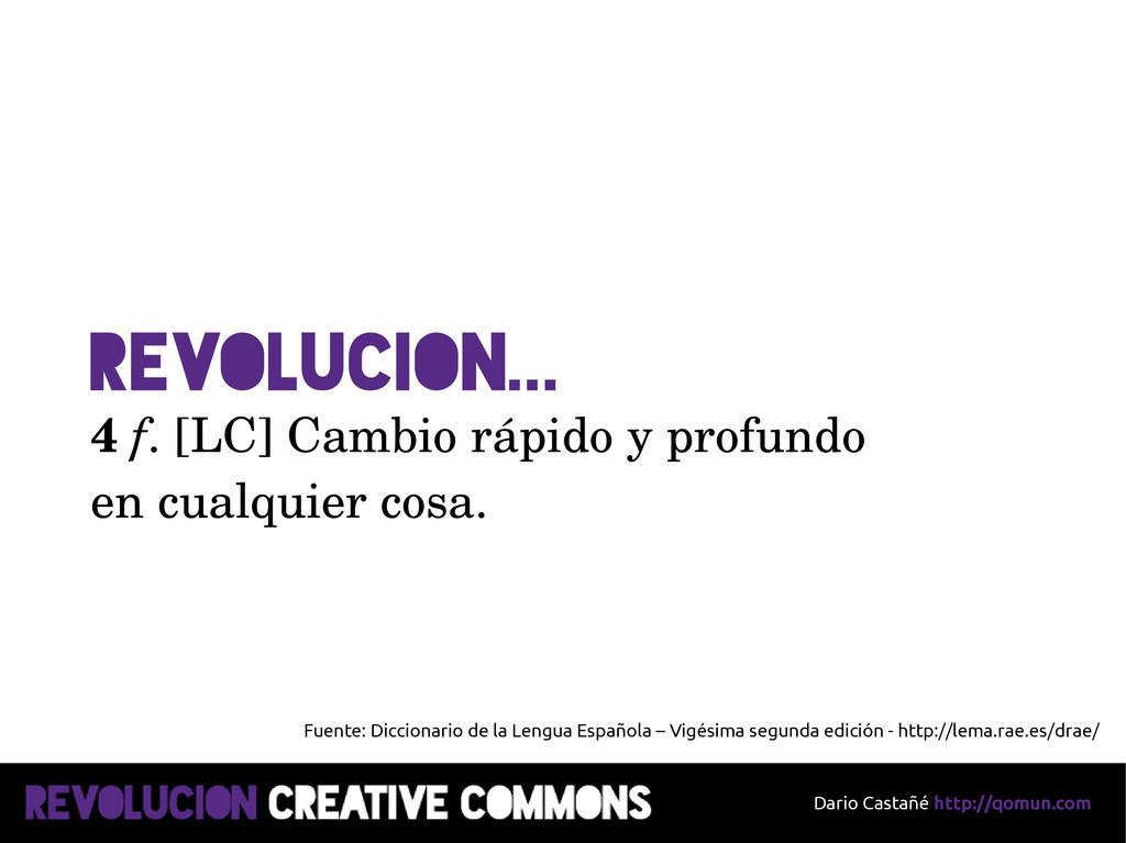 Dario Castañé http://qomun.com RevoluciON... 4 ...