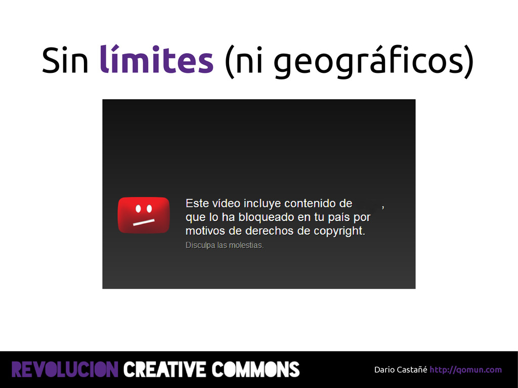 Dario Castañé http://qomun.com Sin límites (ni ...