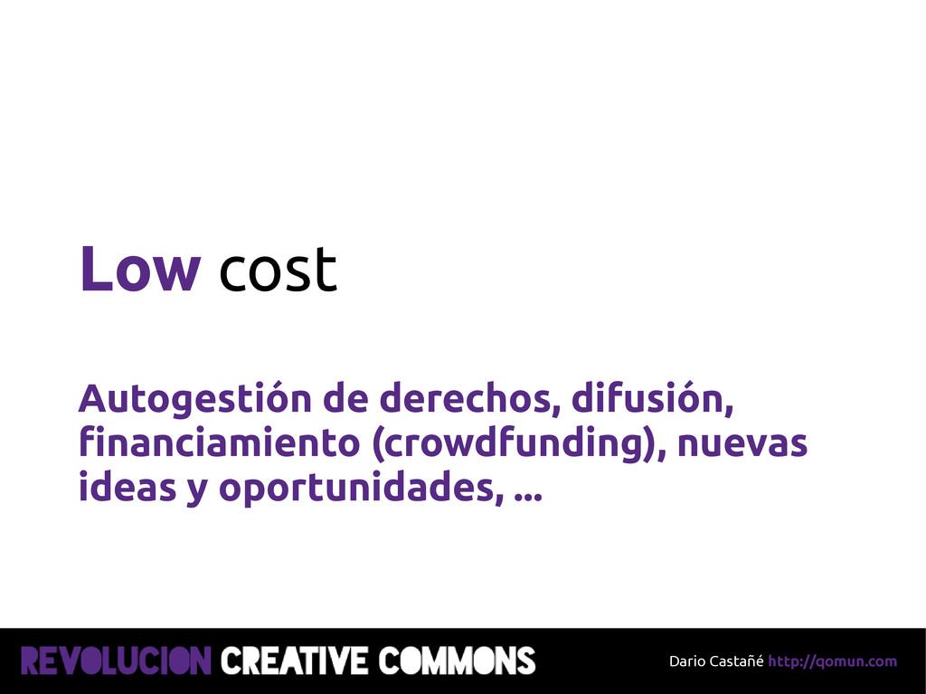 Dario Castañé http://qomun.com Low cost Autoges...