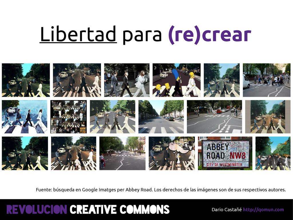 Dario Castañé http://qomun.com Libertad para (r...