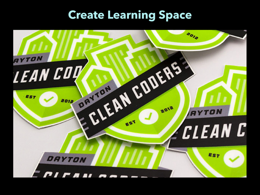 Create Learning Space