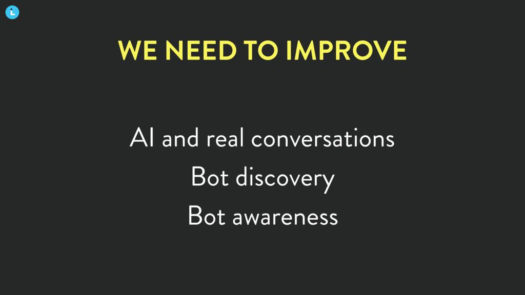 AI and real conversations Bot discovery Bot awa...