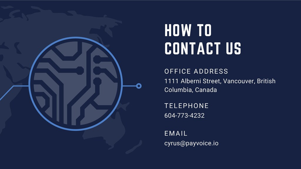 HOW TO CONTACT US OFFICE ADDRESS 1111 Alberni S...
