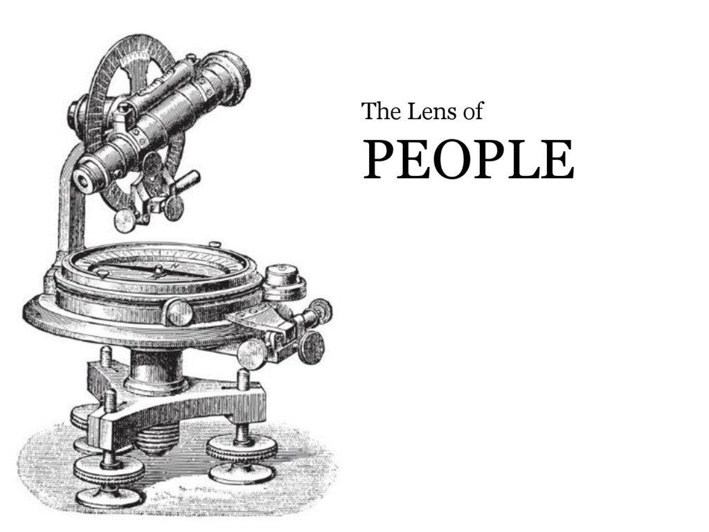 © Microsoft Corporation The Lens of PEOPLE