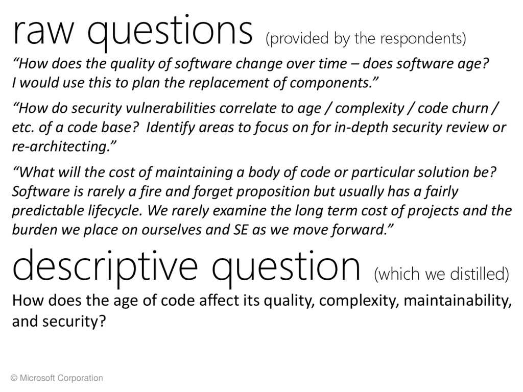 © Microsoft Corporation raw questions (provided...