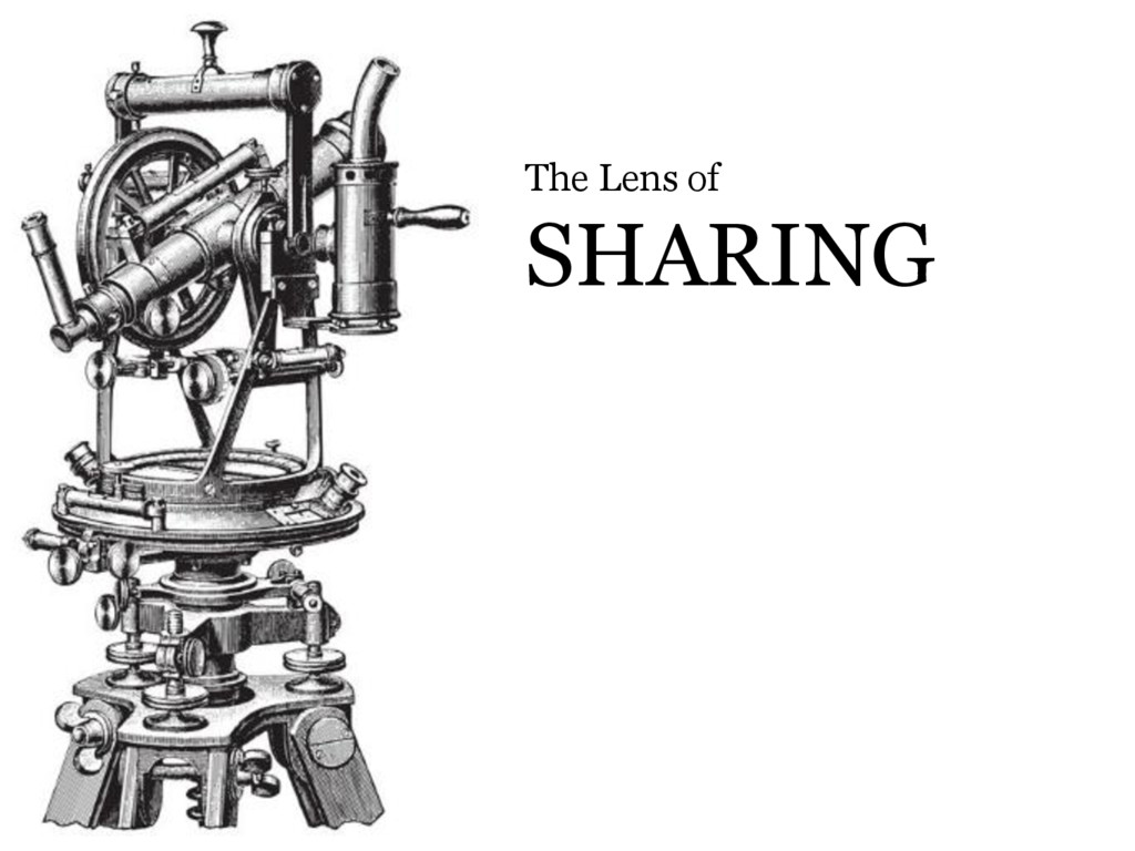 © Microsoft Corporation The Lens of SHARING