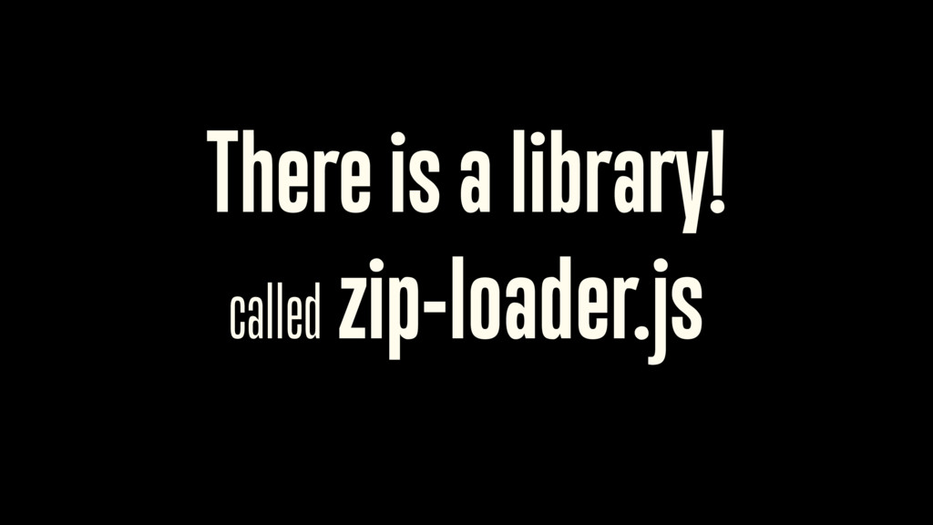 There is a library!