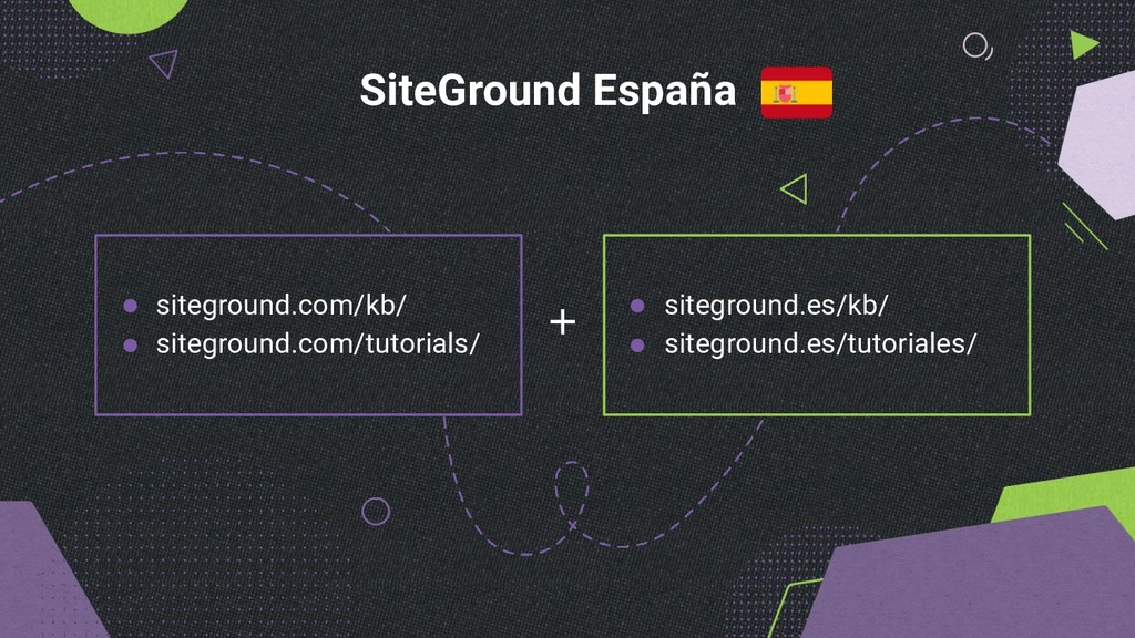 SiteGround España siteground.com/kb/ siteground...