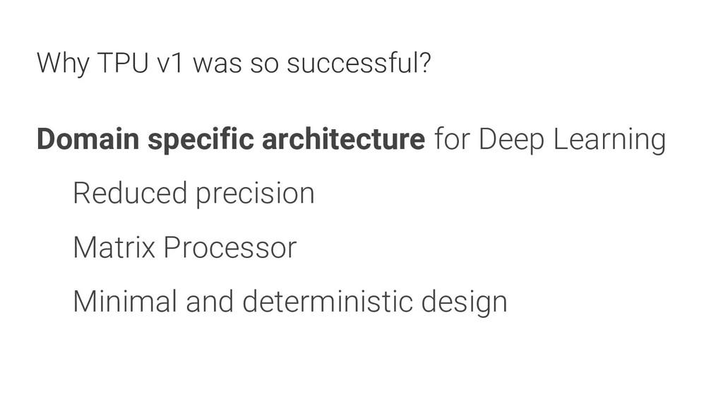 17 Domain specific architecture for Deep Learni...