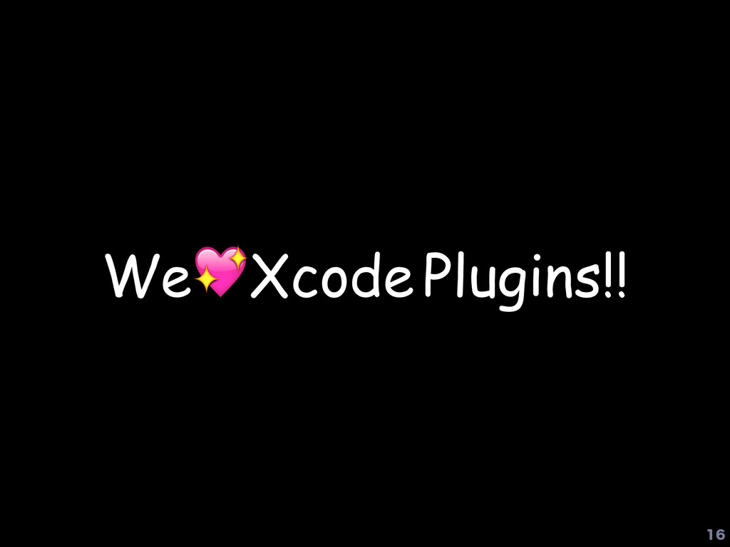 WeXcode Plugins!!