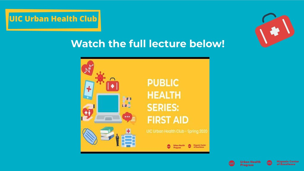 Watch the full lecture below! UIC Urban Health ...